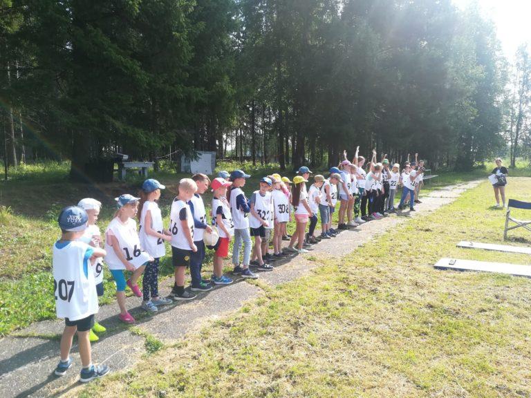 Тестирование в детском лагере «Нечайка»