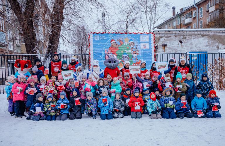 Вспоминаем новогоднюю пропагандистскую акцию «Новый год с ГТО»!